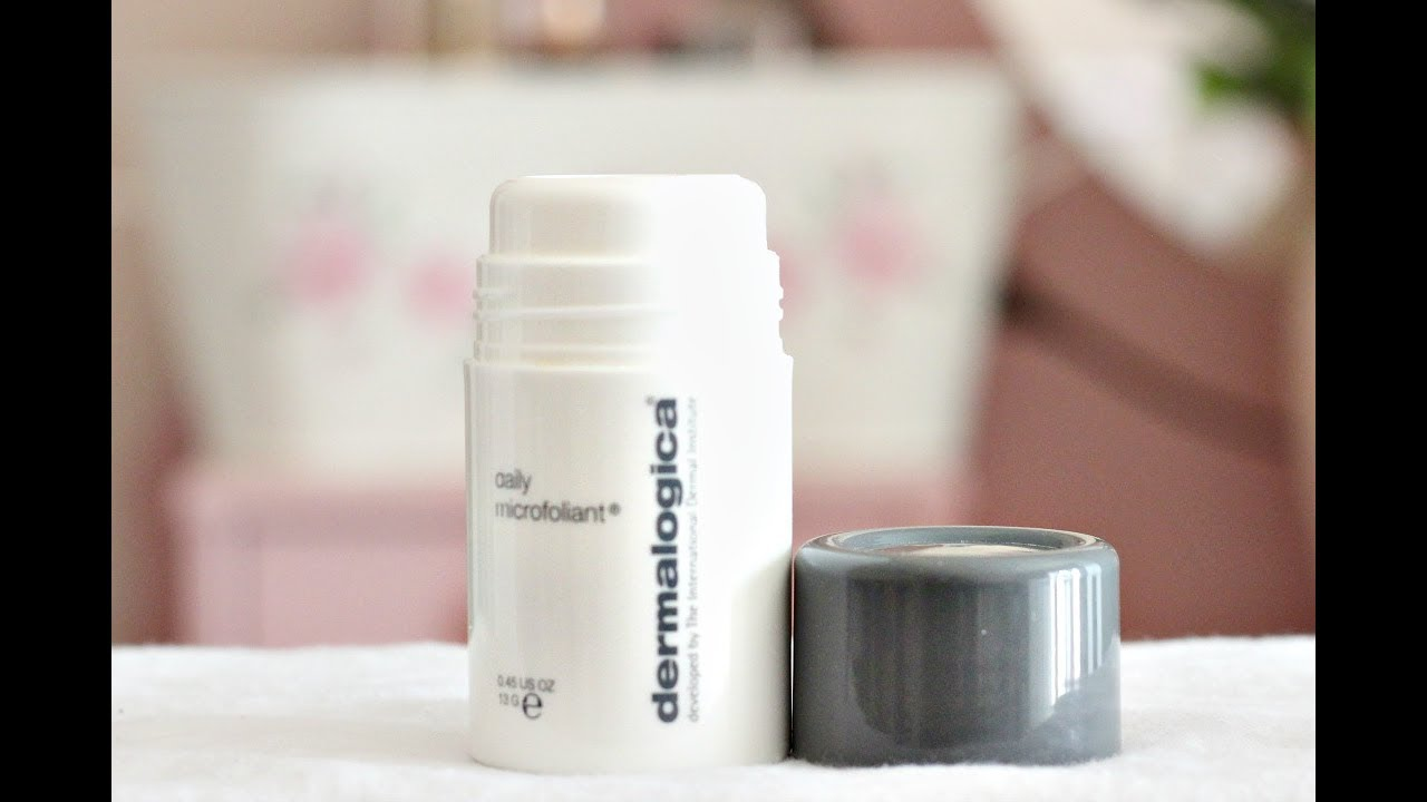 Dermalogica Daily Microfoliant Review - YouTube 5a066734e1f1