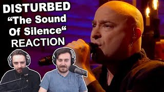 "Singers Reaction/Review to ""Disturbed - The Sound of Silence"""