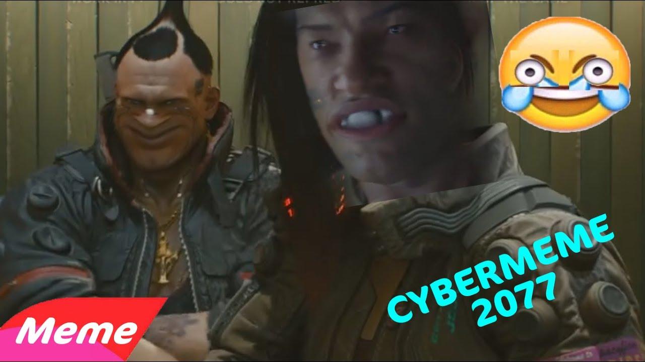 Cybermeme - The Original Cyberpunk 2077 Gameplay But With ...