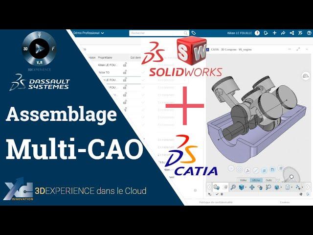 3DEXPERIENCE ® - Assemblage multi-CAO