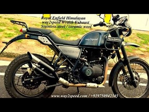 Royal Enfield Himalayan Silencer Way2speed Performance Youtube