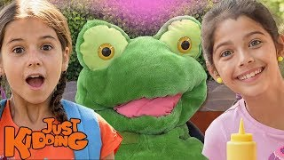 Magic Carriages, Record Breaking Sandwiches, & Touchy Frogs  | Best of Just Kidding Pranks