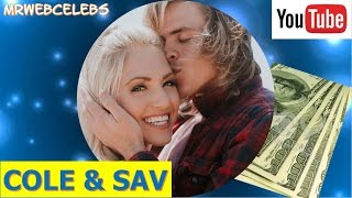 How much money does COLE & SAV make on YouTube 2017