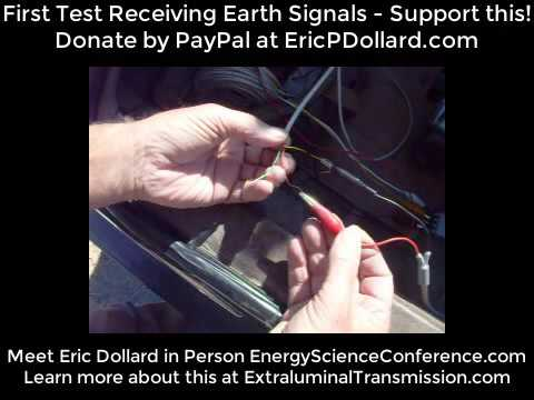 Earth Signals Received! Eric Dollard's Advanced Seismic Warning System Success