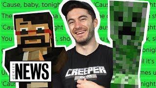 How CaptainSparklez's Minecraft Parody