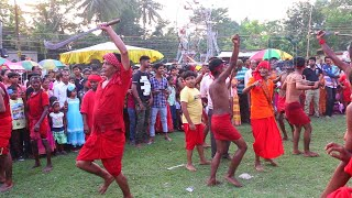 Folk dance on Charak Puja in West Bengal