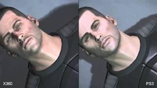 Mass Effect 2 Xbox 360 vs. PlayStation 3 Demo Comparison