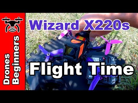 Eachine Wizard x220s Flight Time Tips Before flying