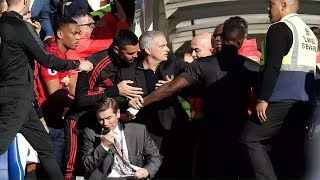REACTIONS TO MOURINHO FIGHT WITH CHELSEA STAFF 😳😳