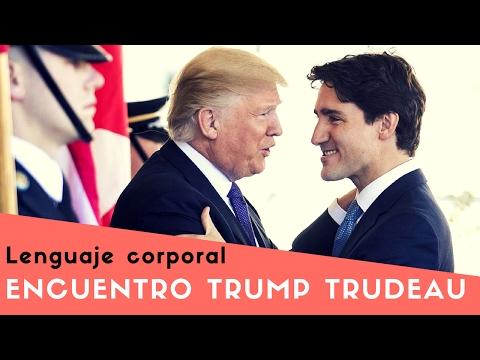 Donald Trump & Justin Trudeau LENGUAJE CORPORAL Análisis