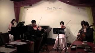 ブラームス ピアノ四重奏曲第1番.