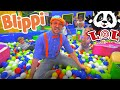 LOL Kids Club With Blippi | Learning With Blippi At The Indoor Play Place!