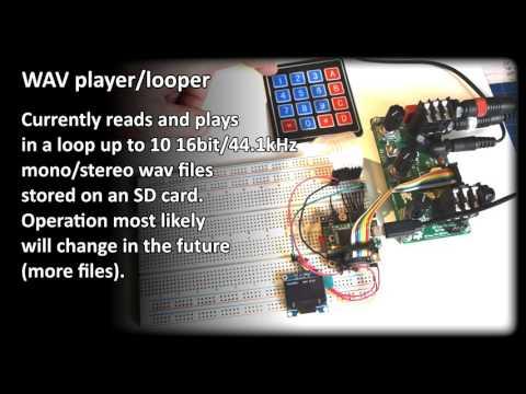 Audio Test Signal Generator based on Teensy3.1