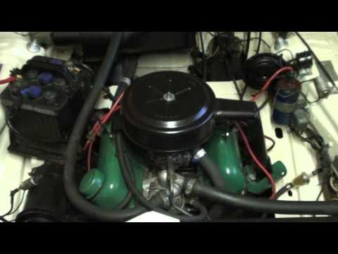 Ford 12m P4   V4  Motor