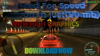 (90MB) Need For Speed Carbon Game Download    PPSSPP    Highly Compressed For Android