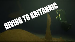 Diving To Britannic | Roblox