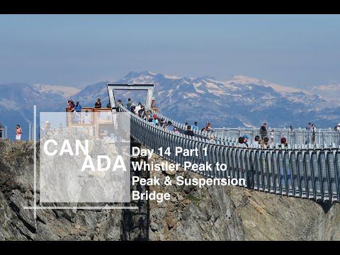 Day 14 Part 1 | Whistler Peak 2 Peak & Suspension Bridge | Canada 2018