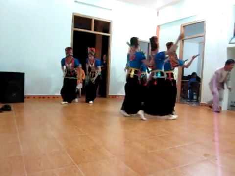Múa dân tộc Thái   Sơn La   Việt Nam Điệu múa Ngày Mùa