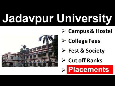 Jadavpur University | WBJEE 2019 | Placement | Cutoff Rank | College Fees | Hostel And Campus | Fest