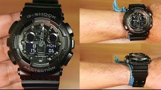 Casio G-shock GA-100CF-1A special color : UNBOXING