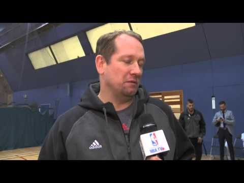 Raptors Practice: Nick Nurse - January 12, 2016