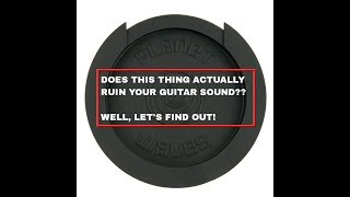 Does This Thing Actually Ruin Your Guitar Sound? | Steve Wallace