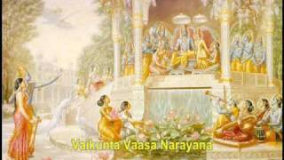 "Sri Sathya Sai Baba singing ""Ksheeraabdhi Shayana Narayana"" Bhajan"