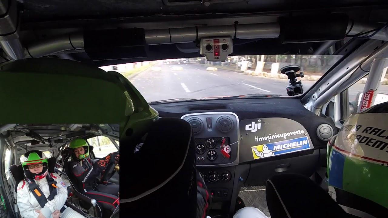 Cu mama copilot în mașina de raliu - Super Rally Trofeul București 2019
