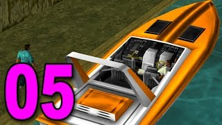 Grand Theft Auto: Vice City - Part 5 - STEALING THE FASTEST BOAT