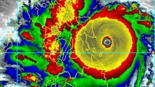 Super Typhoon HAIYAN (YOLANDA) in Tacloban City, Philippines (2013)