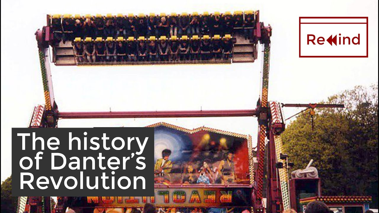 What happened to Danter's Top Spin ride? | History of the Revolution | HTRewind
