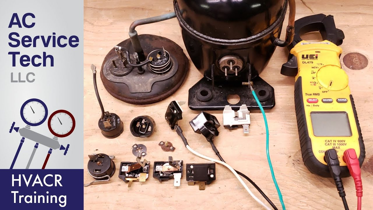 Compressor Overload Protector Testing! How it Works!