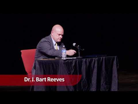 Gadsden City Schools Superintendent Interviews: Dr. J. Bart Reeves