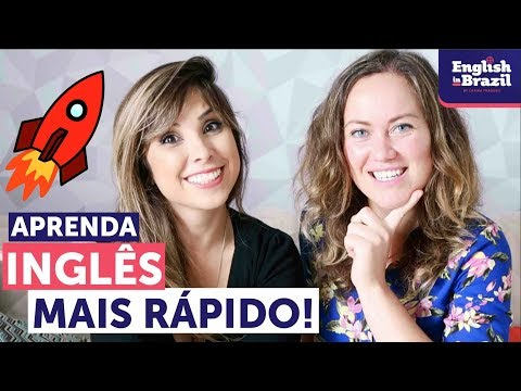 COMO APRENDER INGLÊS MAIS RÁPIDO | ft. Go Natural English