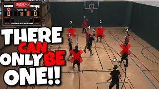 10 PLAYERS ENTER BUT THERE CAN ONLY BE ONE WINNER!! Crazy IRL Basketball Tournament