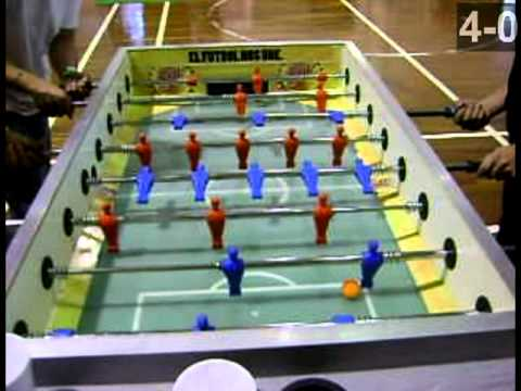 4arto torneo nacional de futbolito de mesa youtube for Mesa futbolito