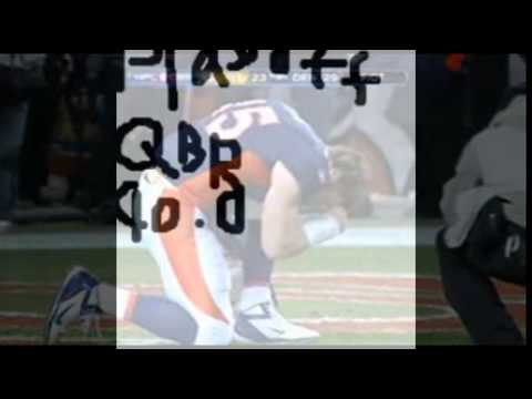 Proof Tim Tebow was a good NFL QB (Tim Tebow tribute)
