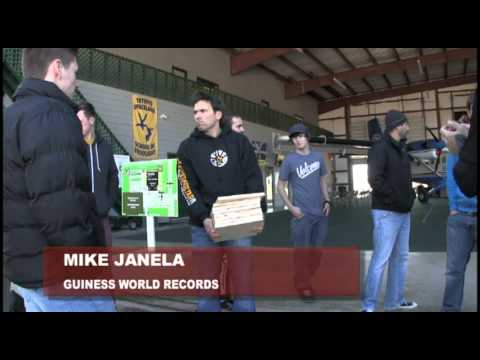 Former Power Ranger breaks new skydiving record in Pearland