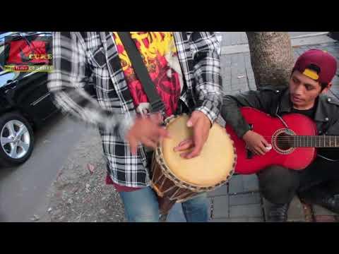 Pengamen Reggae main Jimbe Keren Banget