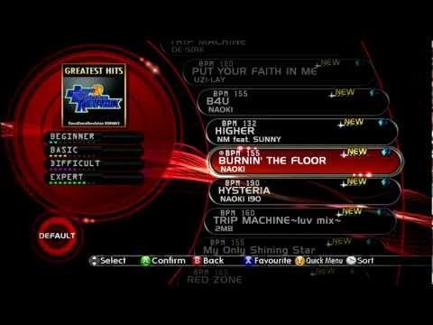 720P HD Dance Dance Revolution 2011  All Songs Setlist Scroll
