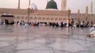 Naat Shareef Recited Outside Masjid e Nabvi (Naat meray aka ao)