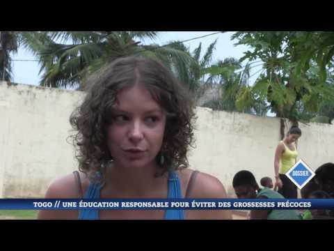 L'association dans un reportage sur l'éducation sexuelle au Togo (New World Television)