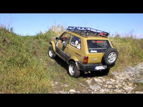 Fiat panda al campionato regionale trial 09 doovi for Panda 4x4 extreme