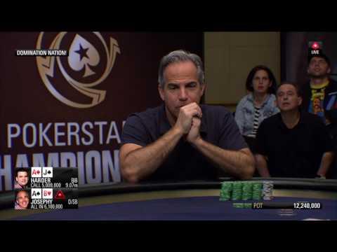 The Winning Hand of the PokerStars Championship Bahamas Main Event