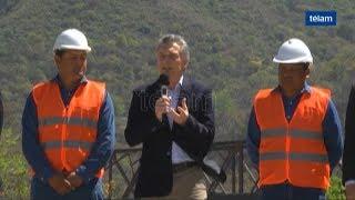 El presidente Macri en Salta