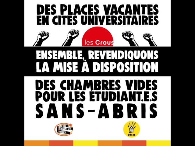 #ÉTUDIANT.E.S SANS-ABRIS - Témoignage de Menel