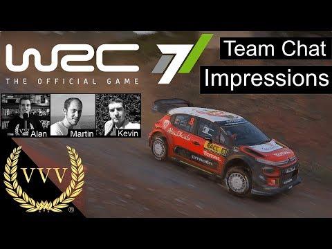 Team Chat WRC 7 Impressions