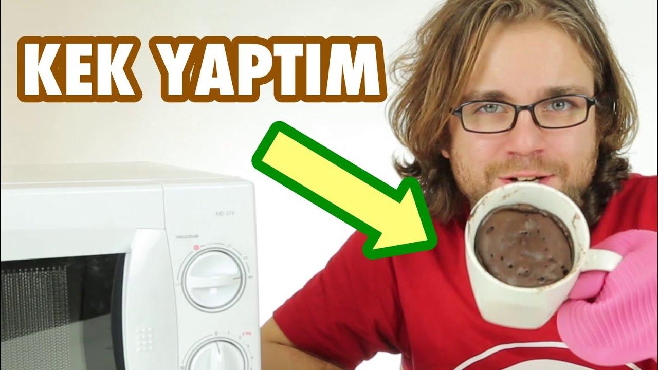 Mikrodalga Keki Tarifi Videosu