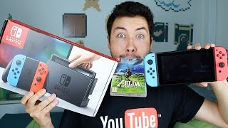 Une Console Innovante : Nintendo Switch ! (Unboxing)