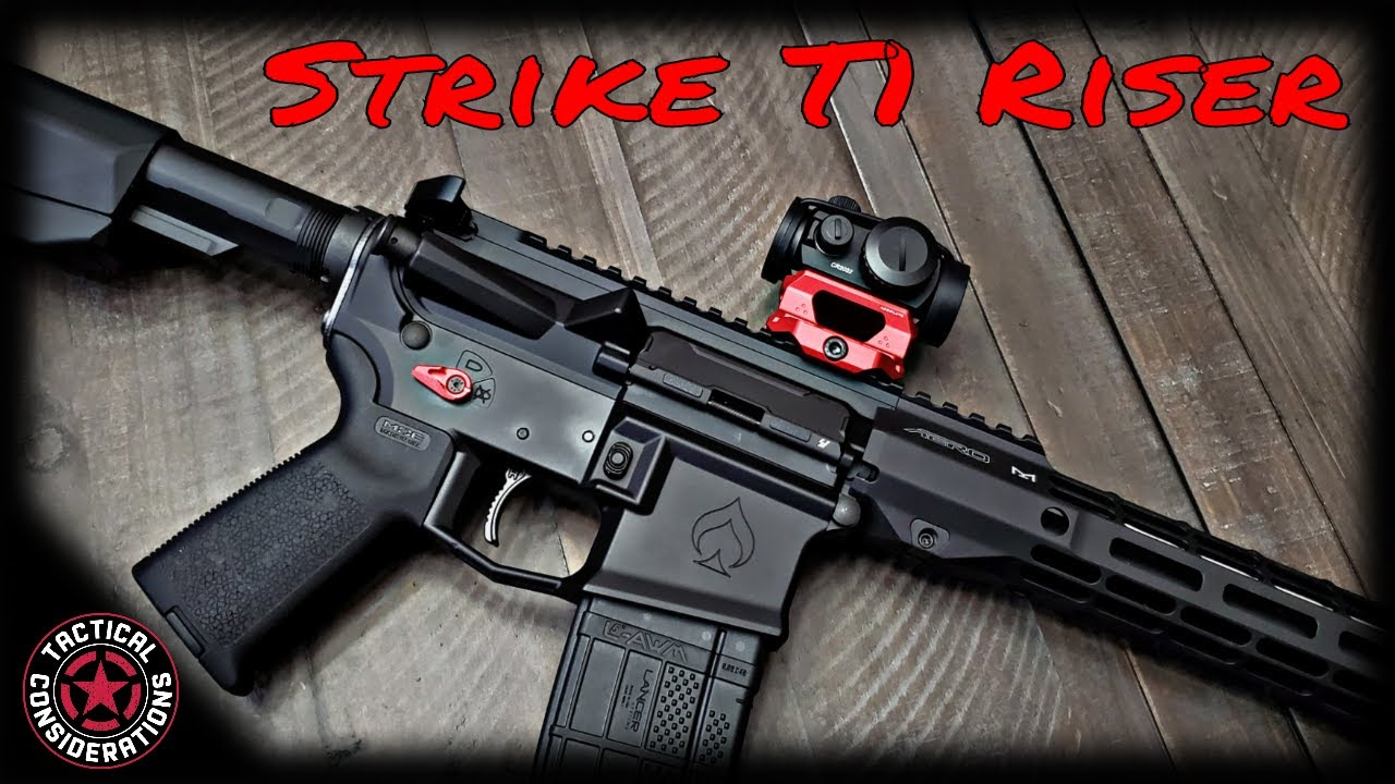 Strike T1 Riser For your Aimpoint, Vortex or other MRO Style Optic